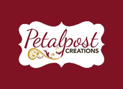 Logo for                       Petalpost Creations.