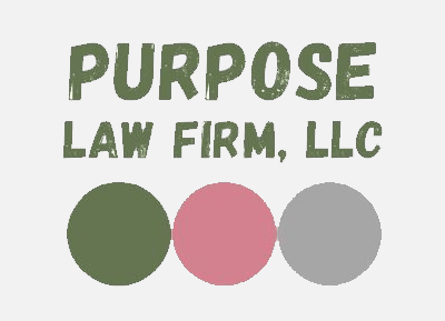 Logo for                     PURPOSE Law Firm.