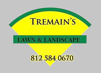Logo for                       Tremain's Lawn & Landscape, LLC.